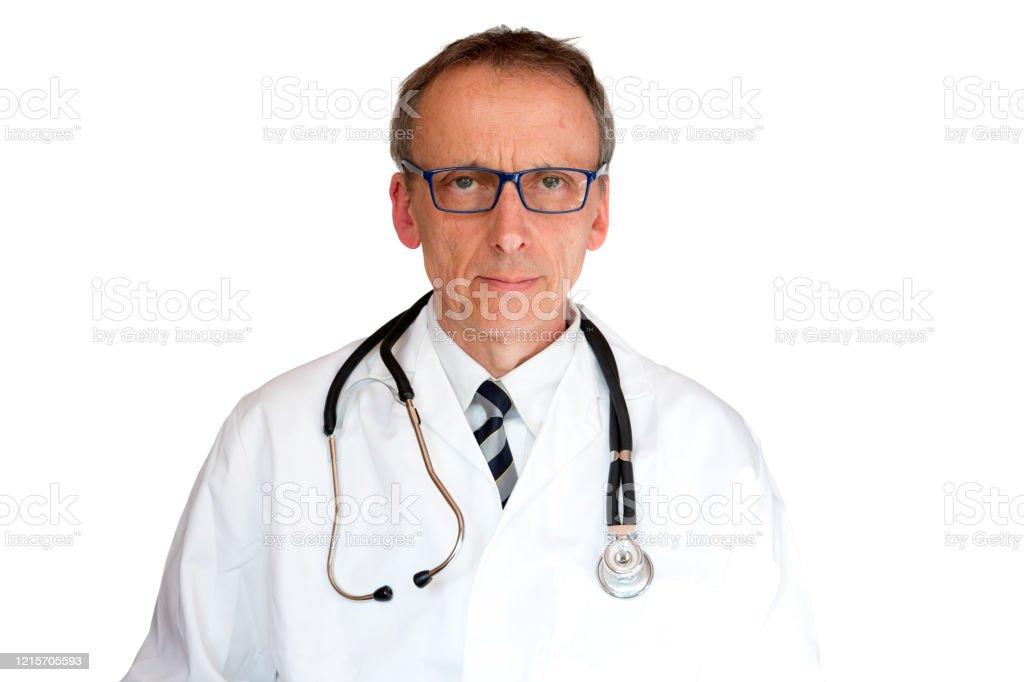 Doctor Wearing Eyeglasses - Royalty-free Adult Stock Photo