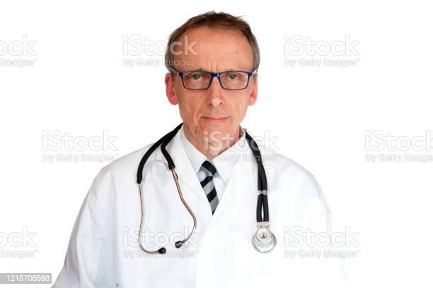 Doctor Wearing Eyeglasses Stock Photo - Download Image Now