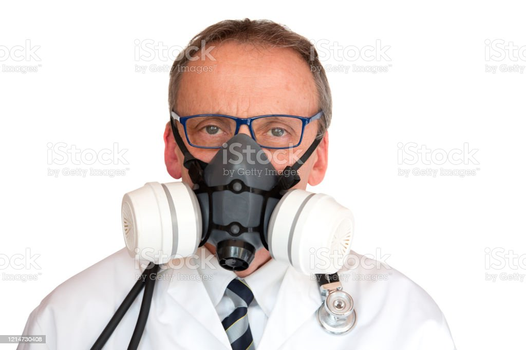 Doctor Wearing Face Mask - Royalty-free Doctor Stock Photo
