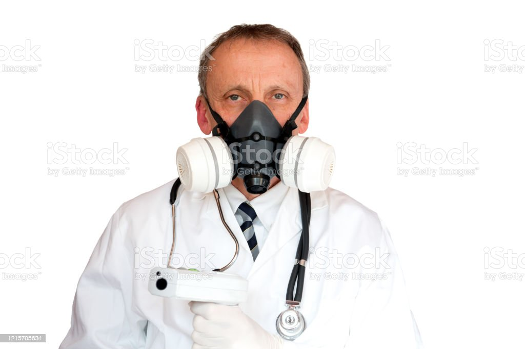 Doctor Wearing Face Mask - Royalty-free Adult Stock Photo