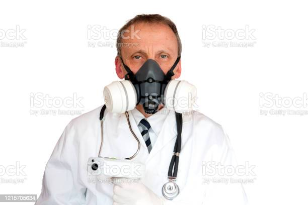 Doctor Wearing Face Mask Stock Photo - Download Image Now