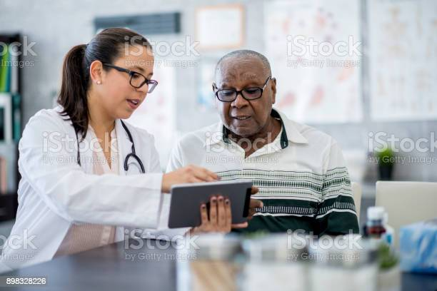 Doctor with a tablet computer picture id898328226?b=1&k=6&m=898328226&s=612x612&h=sbf25y60gacrzd539nvxjg4za tkabji901jgirechi=