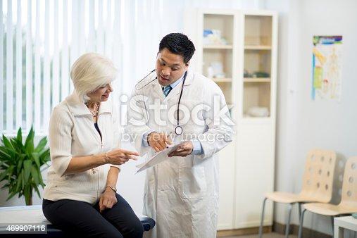 istock Doctor with Senior Patient 469907116
