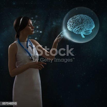 183306794istockphoto Doctor working with futuristic touch screen interface 537048310