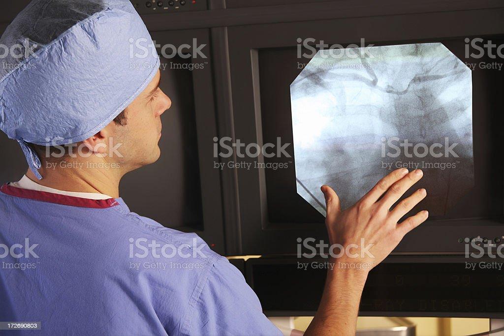 Doctor Xray Examine stock photo