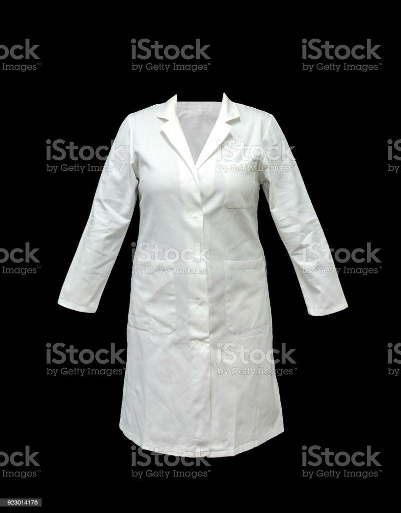 casaco de doutoramento ou médico, roupas foto royalty-free