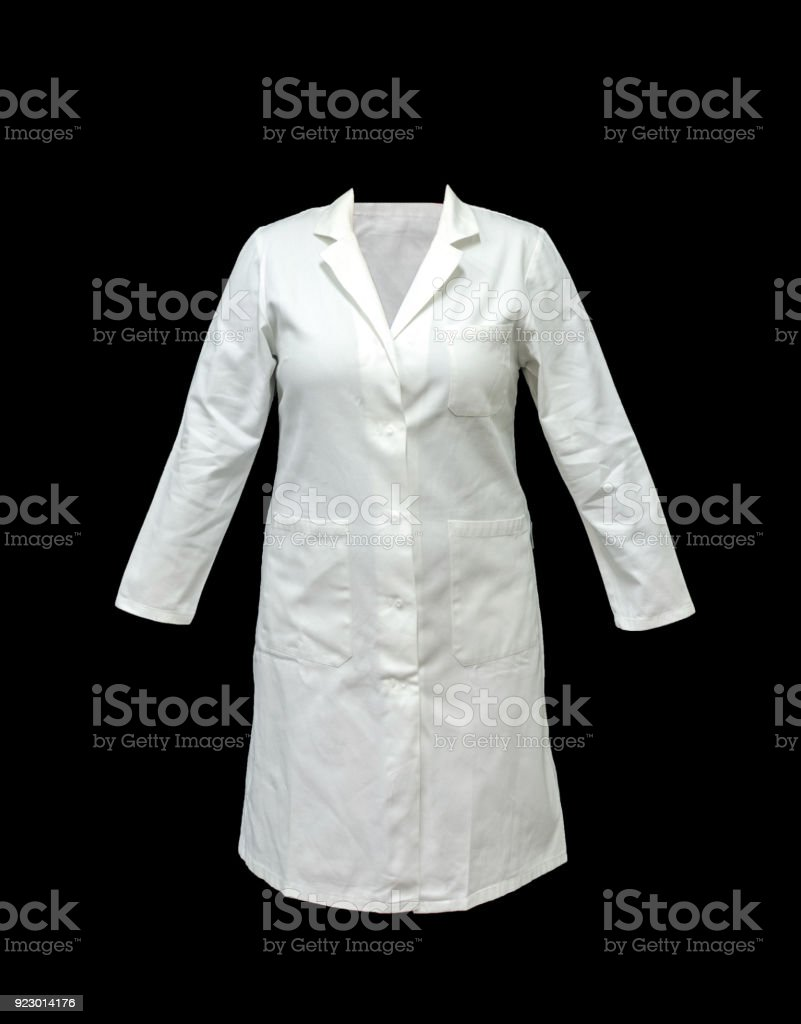doctoral or medical coat, clothes stock photo