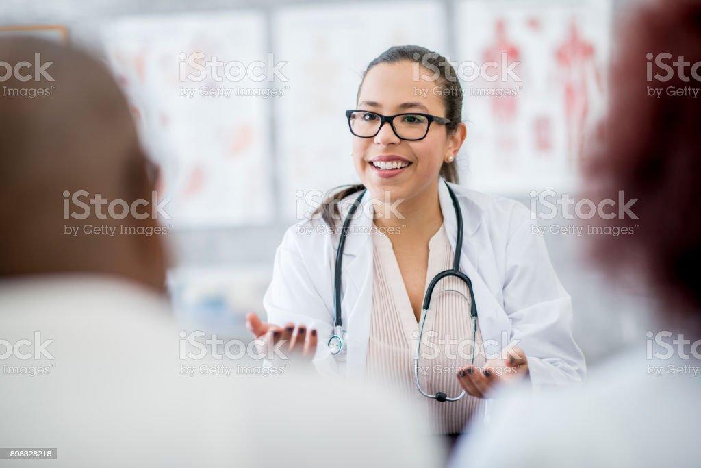 Doctor's Advice stock photo