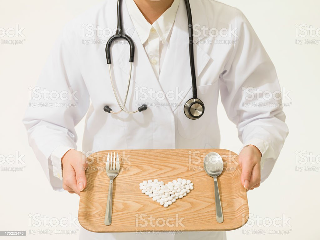 Doctors and medicine. royalty-free stock photo