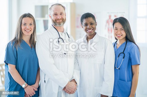 istock Doctors and Nurses 830848382