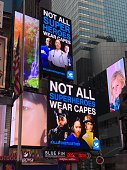 istock Doctors are Superheroes Billboard in Times Square 1219819838