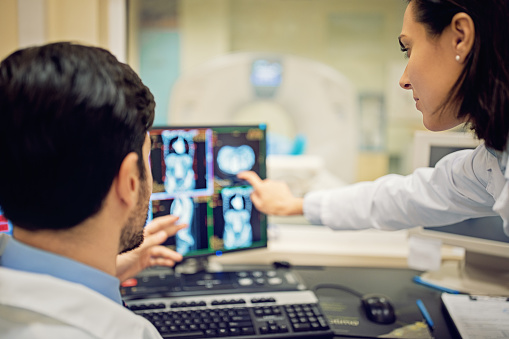 istock Doctors are working with CT scan in hospital 1124543330