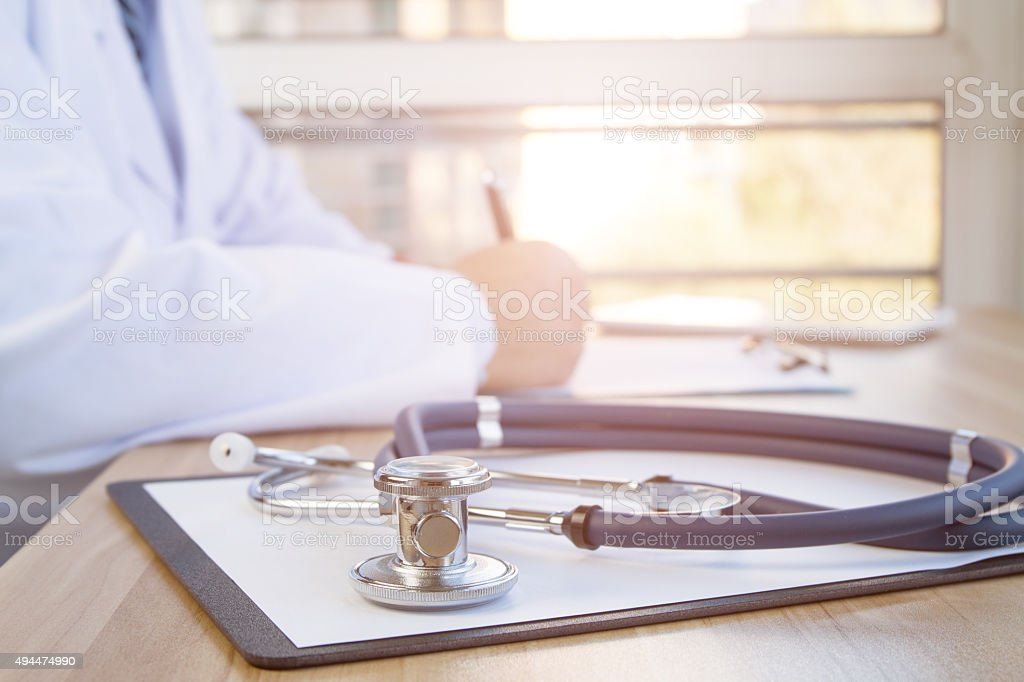doctors at work stock photo