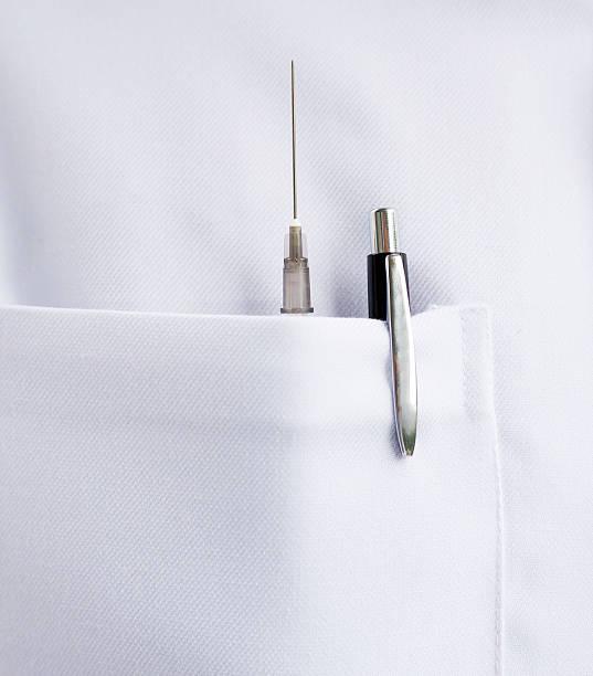 Médico's coat - foto de acervo