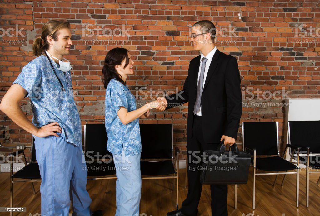 Doctor's day royalty-free stock photo