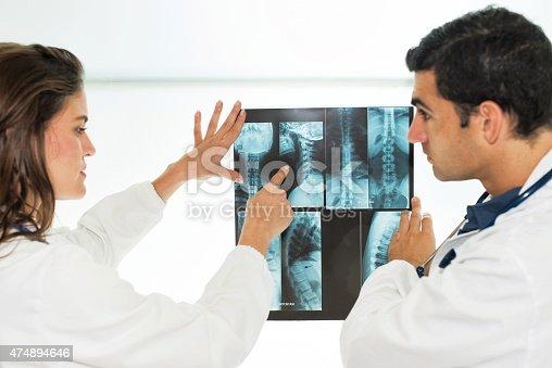 istock Doctors Examining X-Ray 474894646