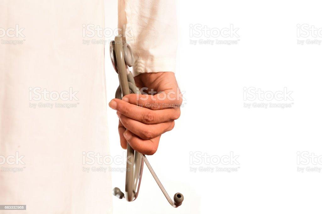 Doctor's hand photo libre de droits
