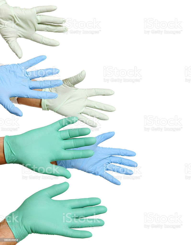 Doctors helping hands royalty-free stock photo