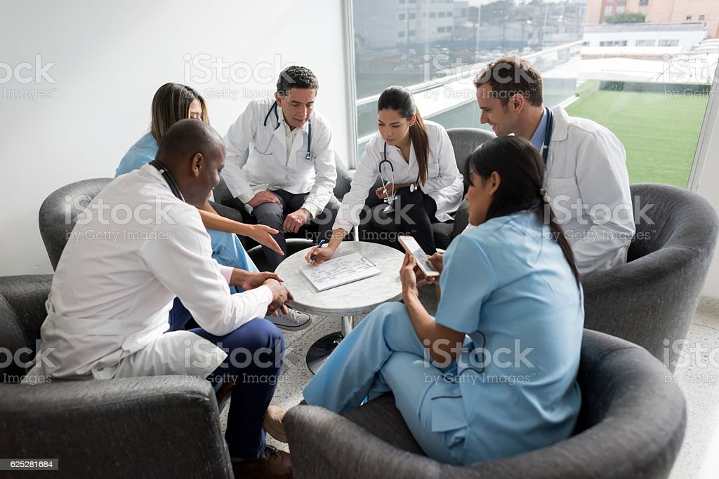 Doctor's meeting at the hospital – Foto