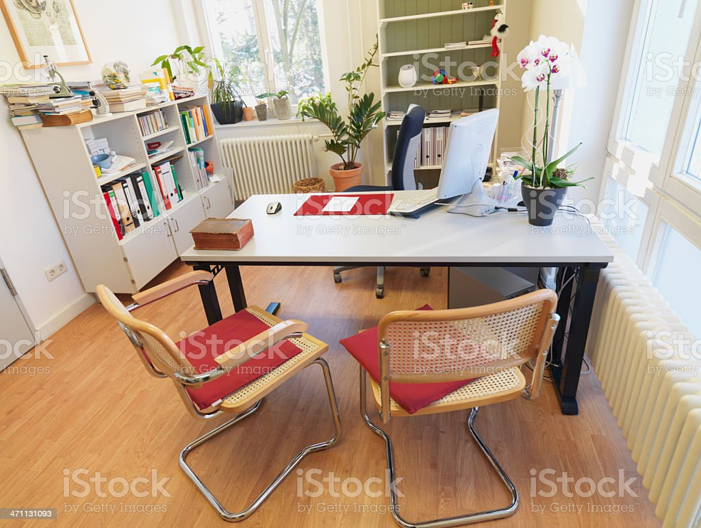 Doctor`s Office Interior royalty-free stock photo