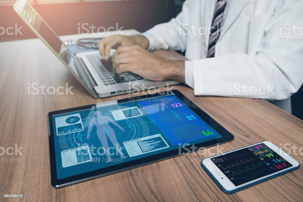 doctor's office. medical technology concept. royalty-free stock photo