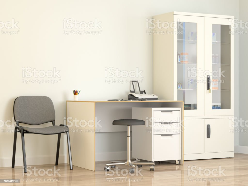 Doctor's office stock photo
