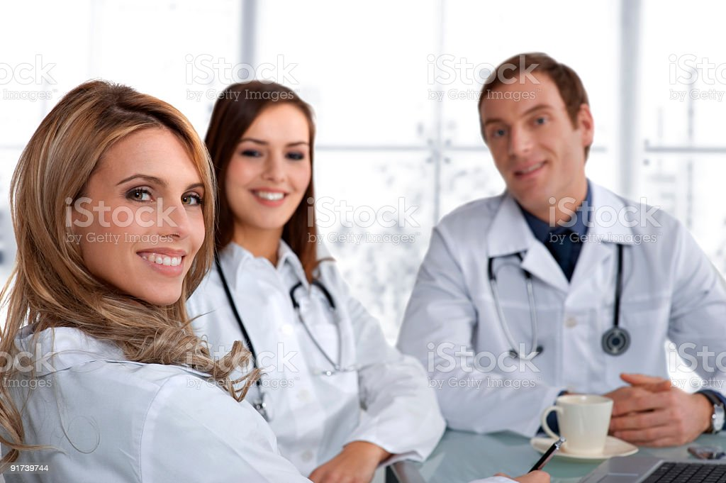 Doctors royalty-free stock photo