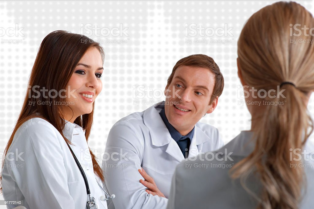 Doctors royalty-free stock photo