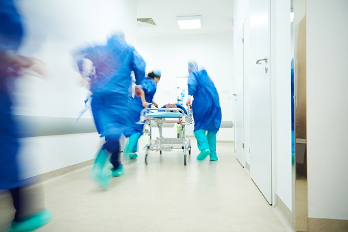 istock Doctors running for the surgery 639815060
