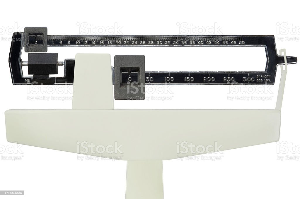 Doctors Scale Stock Photo More Pictures Of Bathroom Scale Istock