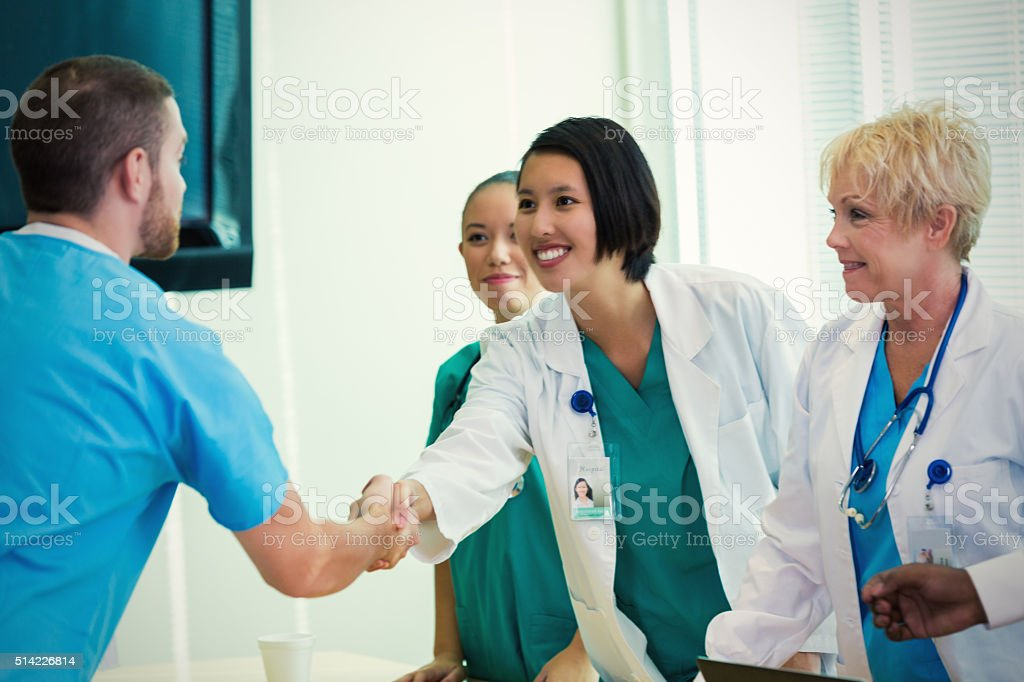 Nurse hand jobs patient