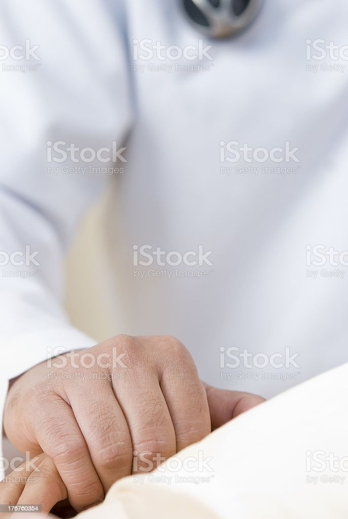Doctor's supporting patients royalty-free stock photo