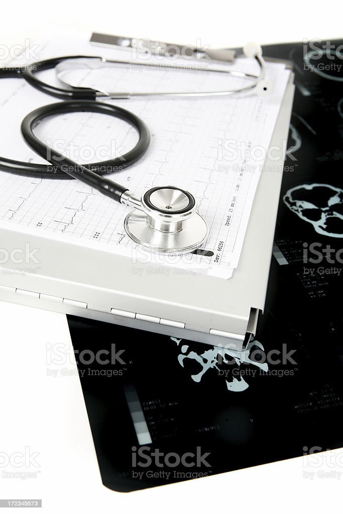 Doctors things royalty-free stock photo