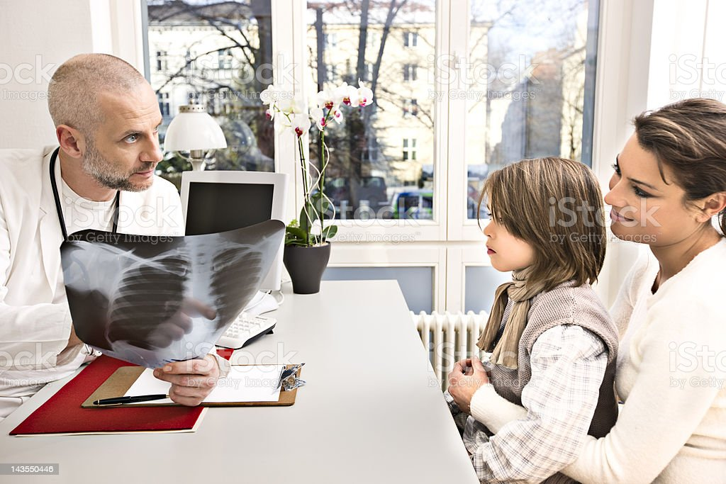 Doctor's visit royalty-free stock photo