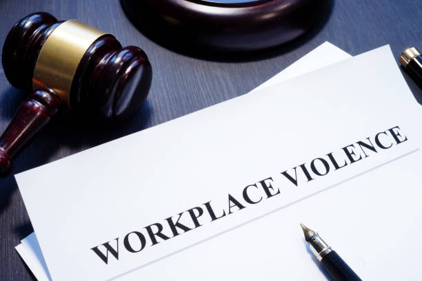 Document about Workplace Violence in a court. Document about Workplace Violence in a court. place of work stock pictures, royalty-free photos & images