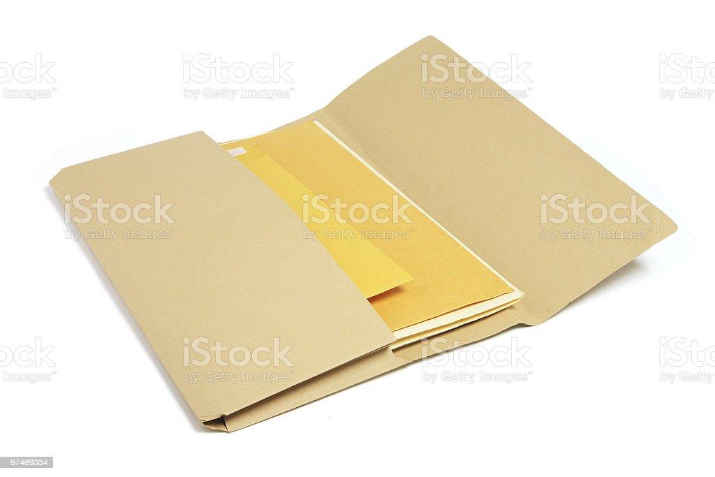 Document Folder royalty-free stock photo