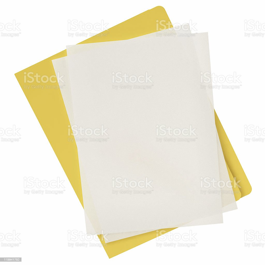 Document Icon royalty-free stock photo