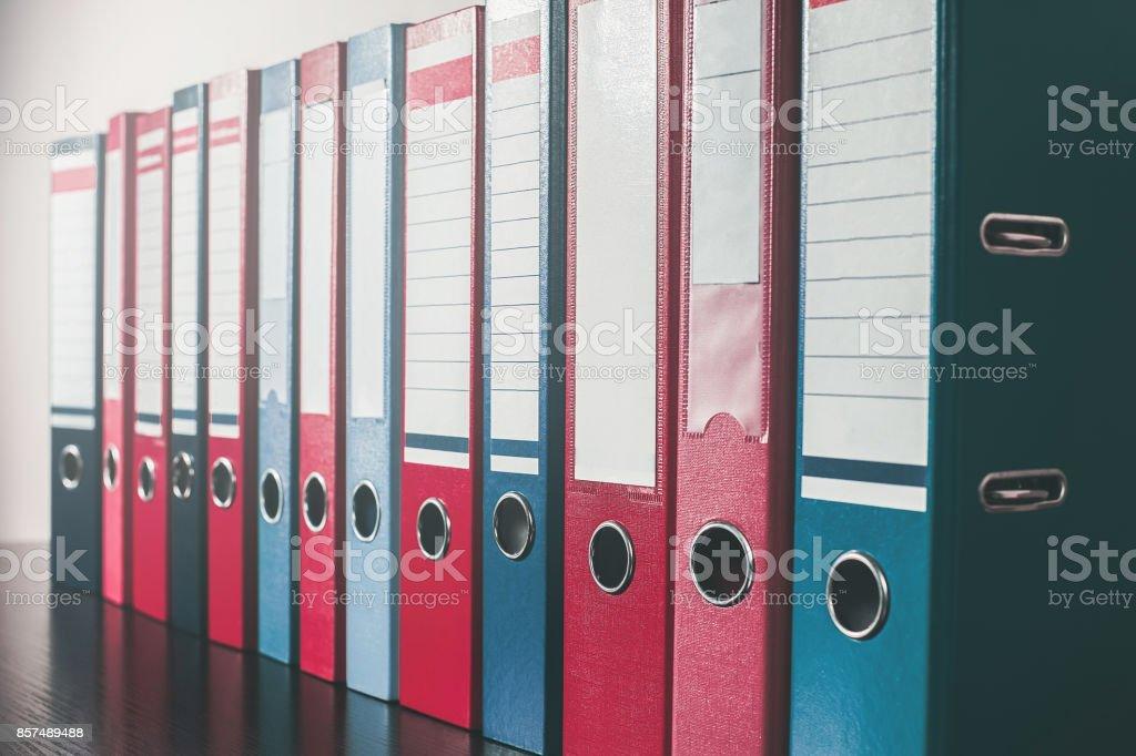 document organization. ring binders.