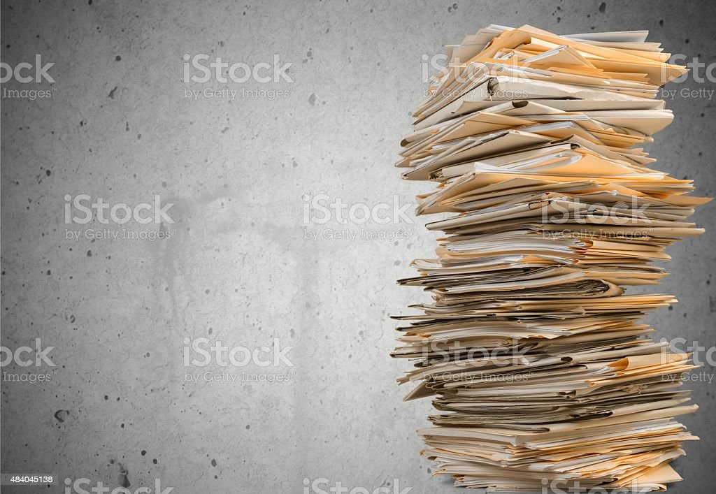 Document royalty-free stock photo