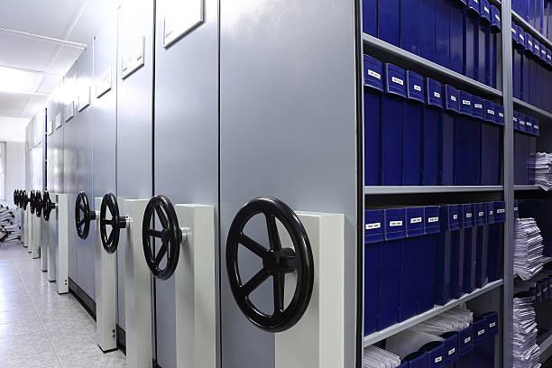 Document Storage Cabinets stock photo