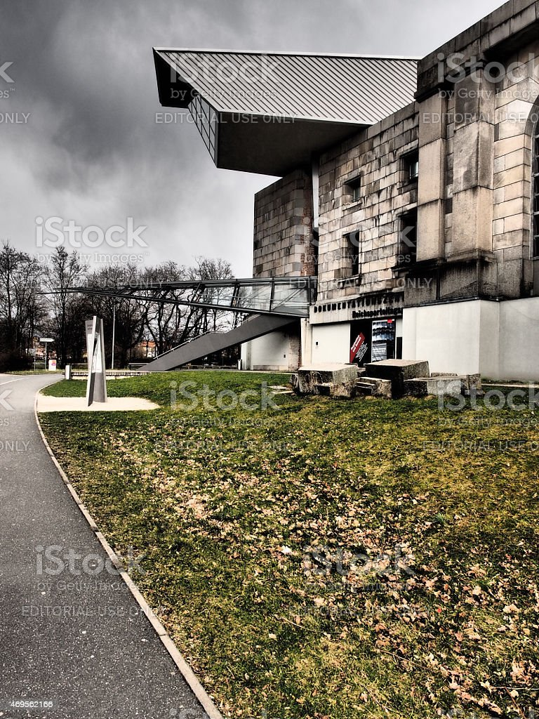 Documentation center build in the former Nazi Party congress building stock photo