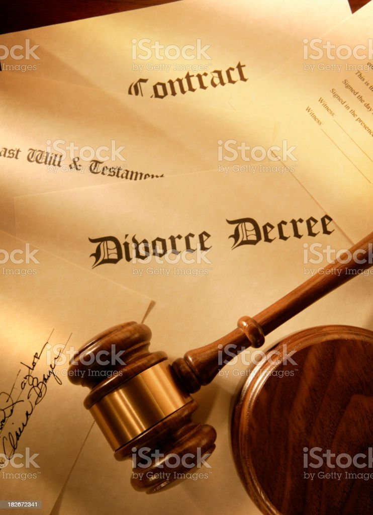 Documents & Agreements royalty-free stock photo