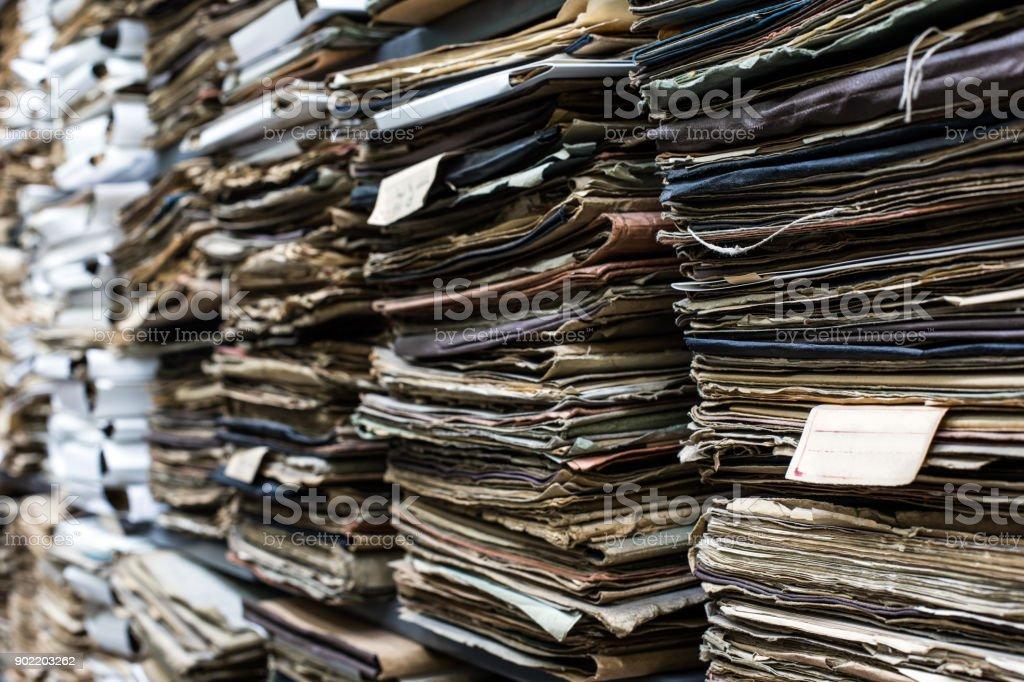 Documents in folders – zdjęcie