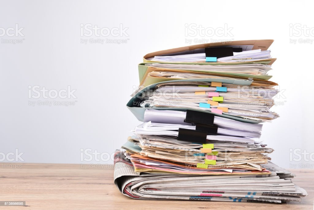 documents stock photo