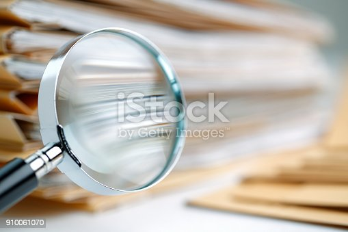468153365 istock photo Documents Search 910061070