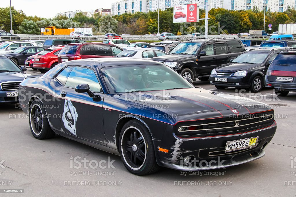 Dodge Challenger Hennessey HPE650 stock photo