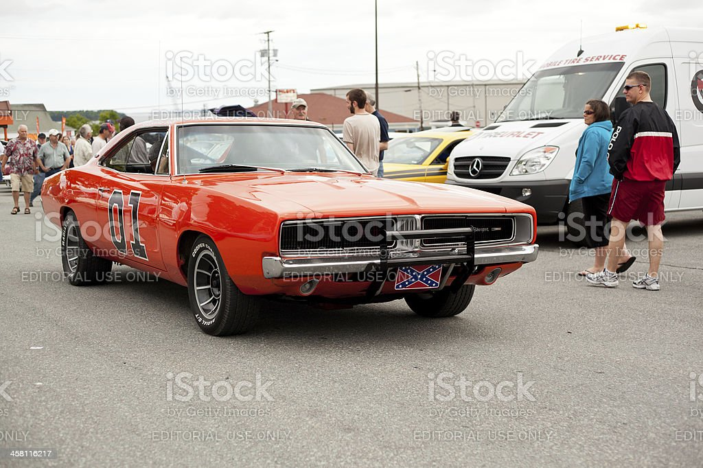 1969 Dodge Charger General Lee stock photo