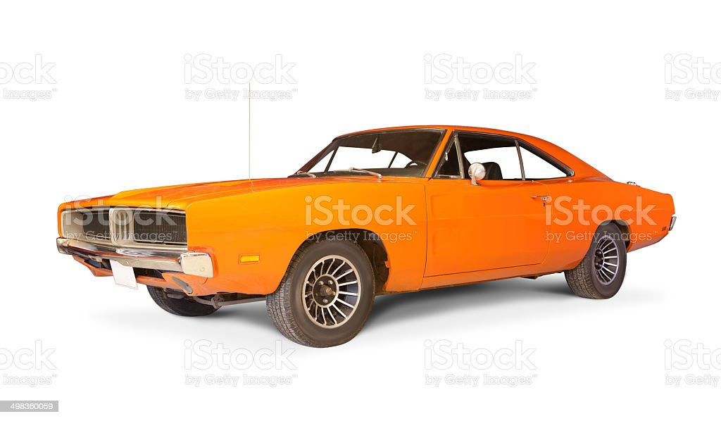 Dodge Charger. stock photo