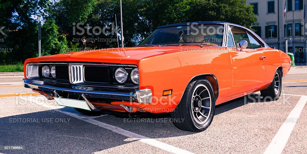 Dodge Charger stock photo