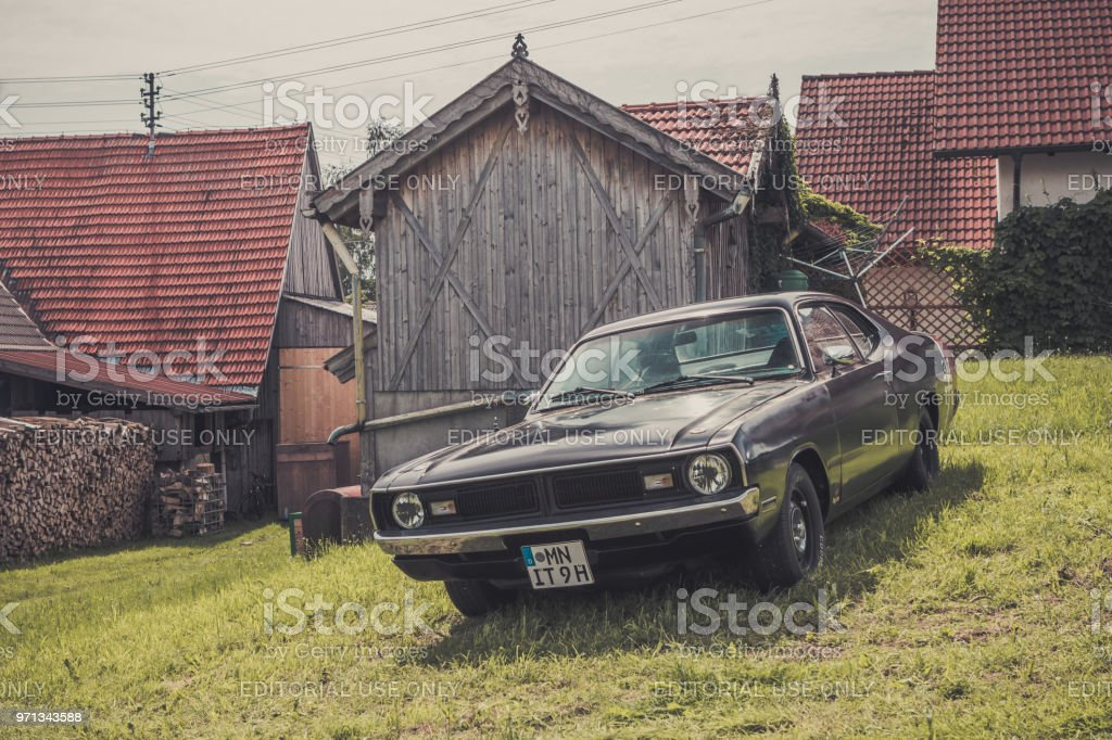 1971 Dodge Dart Demon stock photo